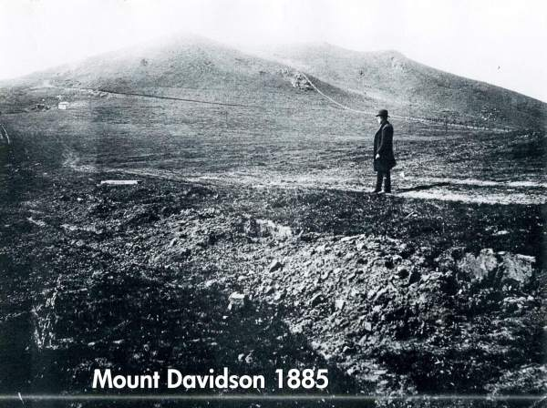 Mount Davidson, San Francisco, 1885.