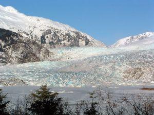 Mendenhall Glacier, Alaska.  Creative Commons