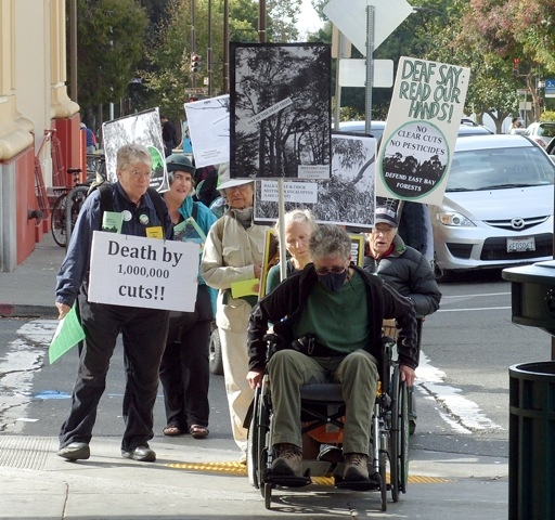 CUIDO demonstration on November 2, 2013.  Photo by Luke Hauser