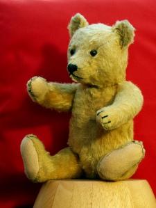 Teddy bear.  Creative Commons
