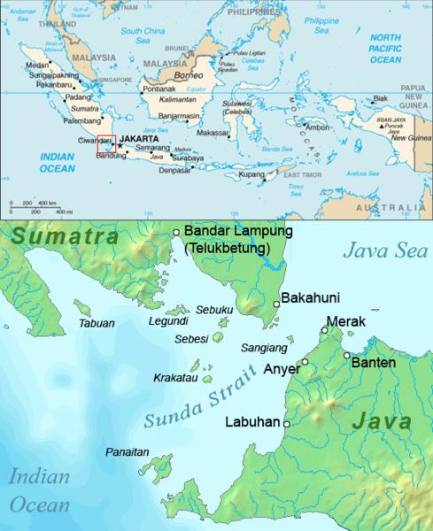 Krakatoa:  A case study of species dispersal (1/3)