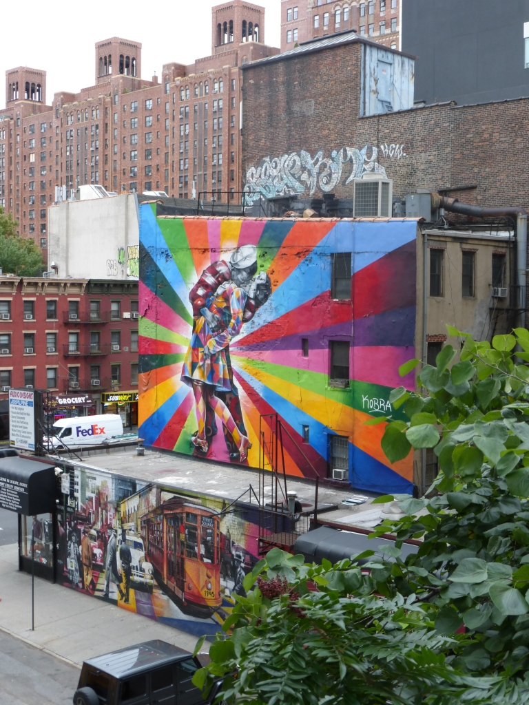 View from High Line Park