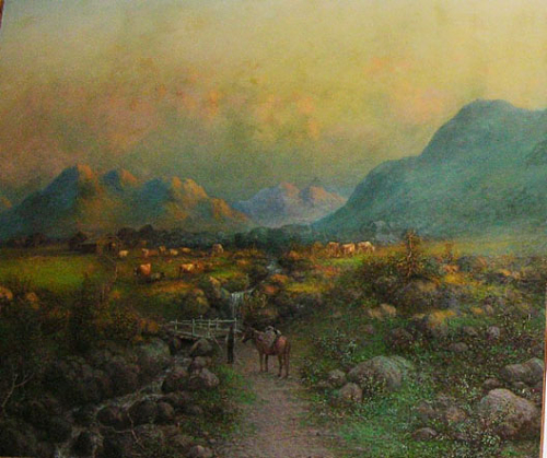 Western pioneer ranch