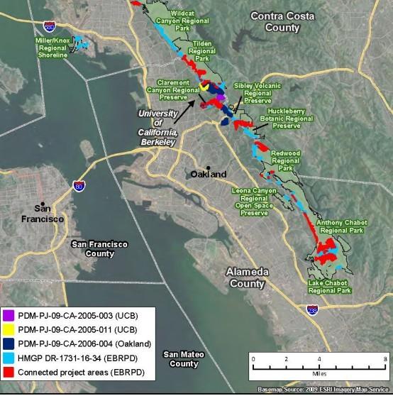 FEMA Project Areas
