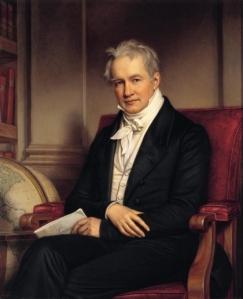 Portrait of Alexander von Humboldt by Joseph Stieler, 1843