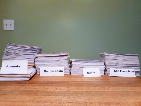 Postcard petitions to Sierra Club
