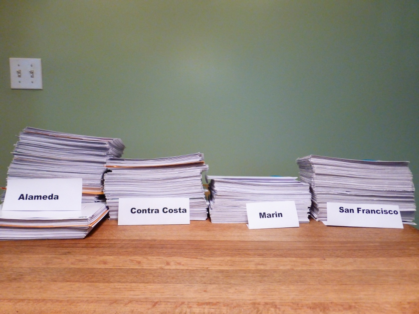 Postcard petitions to Sierra Club