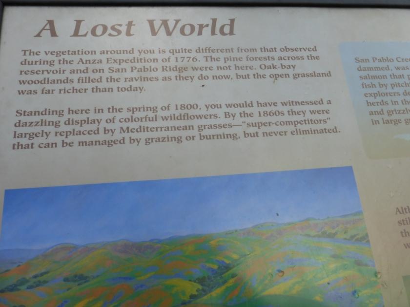 Sign at Inspiration Point, Tilden Park: