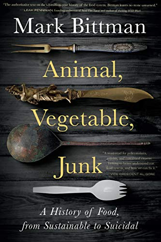 """""""A history of food, from sustainable tosuicidal"""""""